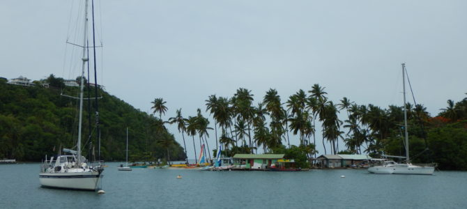 Marigot Bay: rich, famous and boatboys